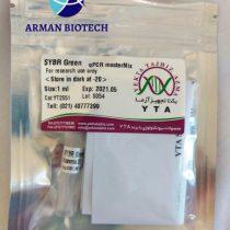 مستر میکس سایبر گرین 2X یکتا تجهیز (SYBR Green qPCR Master Mix 2X)