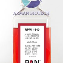 محیط کشت سلول RPMI 1640 در حجم 500ml محصولی از PAN Biotech آلمان