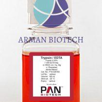 تریپسین 0.25% 1mM EDTA در حجم 100ml محصول PAN Biotech آلمان